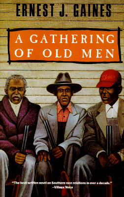 "The cover of ""A Gathering of Old Men"""